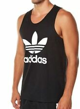 ADIDAS ORIGINALS TREFOIL TANK TOP MEN'S SIZE 2XL (BLACK) STYLE# S89178