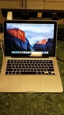"Apple Aluminum Macbook 13"" A1278 Late 2008 Core 2 Duo 2.4 4GB OSX El Capitan"
