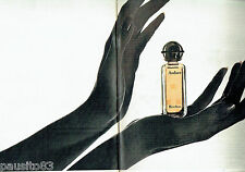 PUBLICITE ADVERTISING 016  1971  ROCHAS  parfum AUDACE (2p) orange