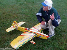 "Model Airplane Plans (UC): JUNAR 58"" Stunt for .40 Engine by Bill Werwage"