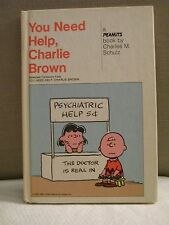 You Need Help, Charlie Brown a PEANUTS book by Charles M. Schulz 1965 HC