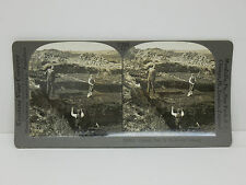 Keystone Stereoview  #T284 Cutting Peat  Northwest Ireland 12635