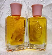 2Pc LOT-White Shoulders .25oz/7.5ml Women PARFUM MINI Splash (Vintage)