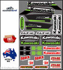 For Kawasaki KLX140 Sticker Decal Kit KLX 140 Stickers