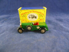 Matchbox Yesteryear Y5-1 1929 Le Mans Bentley Green No. 5 Issue 4 All Original