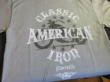 AMERICAN CLASSIC IRON Harley Davidson Motorcycles STYLE Mens KIDS  MED. T-Shirt
