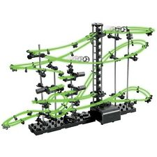SpaceRail Space Rail Marble Run Construction Set Level 2 -10m Rail GLOW IN DARK