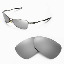 New WL Polarized Titanium Replacement Lenses For Oakley Crosshair 1.0 Sunglasses