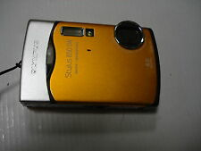 Nice Olympus 850 SW 850SW Digital Camera Waterprof Orange