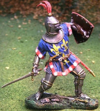 COLLECTORS SHOWCASE AGINCOURT KNIGHTS CS00601 FRENCH JEAN II DUC D'ALENCON MIB