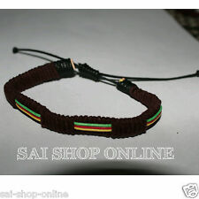 Brown Multi Colour Cool & Sexy Adjustable Bracelet Wrist Band for Men women.