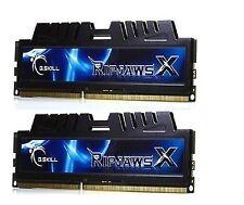 RIPJAWS G Skill 8GB RAM (2 X 4 GB) DDR3 1600 CL7 PC Memory Stick Black Fast