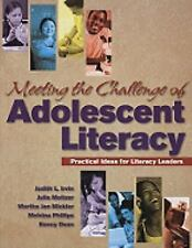 Meeting the Challenge of Adolescent Literacy: Practical Ideas for Literacy Leade