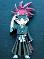 BLEACH Vice Captain Abarai Renji Anime Pin