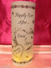 10 Personalized Heart Butterfly Wedding Luminaries Table Centerpiece Decorations