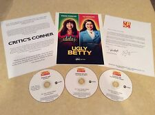 "RARE "" GOLDEN GLOBE CANDIDATE "" THREE EPISODE ENTRY DVD'S - UGLY BETTY TV SHOW -"