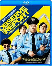 OBSERVE AND REPORT (SLIPCOVER HAS A LITTLE SHELF WEAR)  1 DISC  *NEW BLU-RAY*