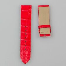 New Jaeger LeCoultre Red Alligator strap 20mm x 16mm