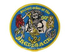 Shellback Ancient Order Of The Navy Naval Equator Crossing King Neptune Patch
