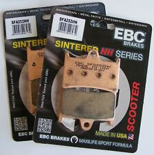 Yamaha XP500 T-Max (2012 to 2016) EBC FRONT Sintered Brake Pads (SFA252HH  x 2)