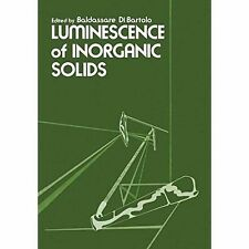 Luminescence of inorganic solids, b bartolo