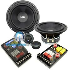 "CDT AUDIO HD-M62 6.5"" HIGH-DEFINITION MIDBASS HEAVY 2-WAY COMPONENT SPEAKERS SET"