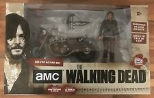 MCFARLANE THE WALKING DEAD TV SERIES NEW DARYL DIXON & CHOPPER MOTORCYCLE SET