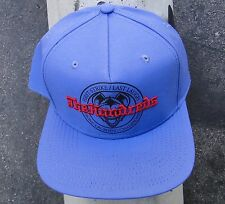 The Hundreds Skate Strike Laugh Blue Snapback Hat Cap HTHD-61