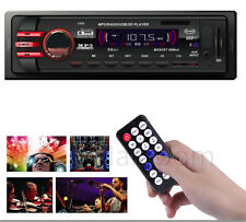 Auto Radio Stereo LED In-Dash MP3/MWA Music Player FM USB SD AUX Input Receiver