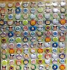 15Pcs 25mm Cartoon Disney Badge Button Pins Children Party Gifts  P-016