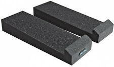 Auralex Acoustics MoPAD Monitor Acoustic Isolation Pads, 1 Pair, Charcoal