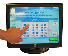 ELO 15'' 1529L ACCUTOUCH TOUCHSCREEN ET1529L-7CWA-1-GY-T-G LCD MONITOR E582772