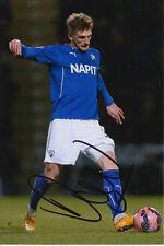 Chesterfield main signé daniel jones 6x4 photo 1.