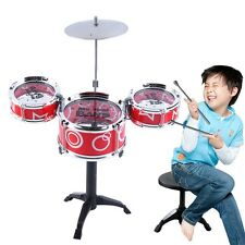 Children Kids Educational Toy Rock Drums Simulation Musical Instruments E0