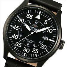 Orient Black Dial 21-Jewel Automatic Flight Watch, PVD Case #FER2A001B, ER2A001B