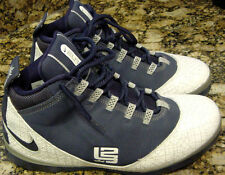2008 Nike Zoom SOLDIER II 2 TB LEBRON JAMES NAVY BLUE WHITE GREY 319407-441 12