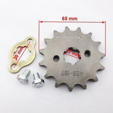 428 15 Tooth 17mm ID Front Gear Engine Sprocket 125cc 160cc Pit Dirt Bike Atv