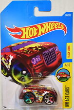 HOT WHEELS 2016 HW ART CARS CHRYSLER 300C