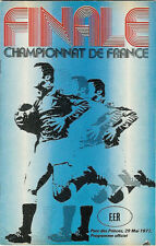 BEZIERS v AGEN 1976 FRENCH CUP FINAL RUBGY PROGRAMME