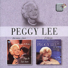 Peggy Lee - Man I Love & If You Go (CD, EMI, AM) Something Wonderful, Smile