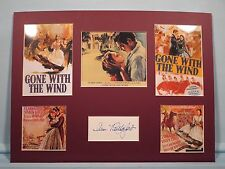 Gone With the Wind - Vivien Leigh & Clark Gable & Ann Rutherford's autograph