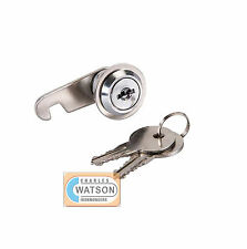 16mm CAM LOCK for Filing Cabinet Mailbox Drawer Cupboard Locker + Secure Keys
