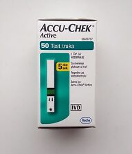 Roche Accu-Chek Active Blood Glucose 50 Test Strips Exp 04/2017 Diabetic Care