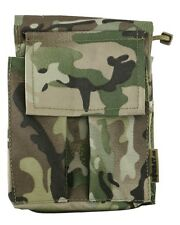 A6 Military Notepad Folder Small Map Case Holder BTP Multicam Style Camo Army