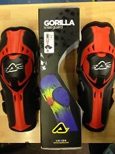 NEW  ACERBIS  GORRILLA   GORILLA ENDURO MX HINGED KNEE GUARDS PADS PROTECTION