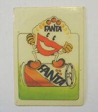 VECCHIO ADESIVO ORIGINALE / Old Original Sticker FANTA ARANCIATA (cm 6 x 8) a