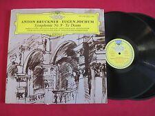 CLASSICAL 2 LP - ANTON BRUCKNER EUGEN JOCHUM - DGG STEREO TULIPS GERMANY VG++