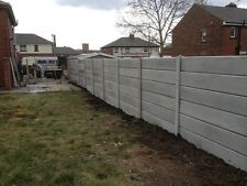 CONCRETE BASE/GRAVEL BOARD ALSO FENCE FENCING. USED BASE PANELS AVAILABLE