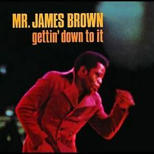 MR. JAMES BROWN Gettin Down To It DEE FELICE TRIO Polydor Records SEALED LP