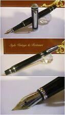 Stilografica Regal British Edward Fountain Pen Blacl Lacquer